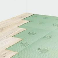 Листовая подложка Solid (Солид) под ламинированные полы и паркетную доску (зеленая)