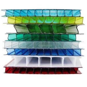 Сотовый поликарбонат Royalplast (РоялПласт) 4 мм (цветной)