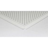 Плита A6/600х600 tegular Alubest 903 белый мат., перф. 3мм