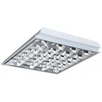 Светильник растровый внутренний 600х600 зеркало Master-light