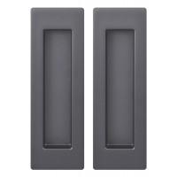 Ручка для раздвижных дверей SH010 URB BPVD-77 Вороненый никель