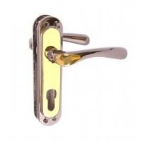 Ручка дверная CORONA STL kYale 62 mm FUME
