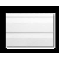Сайдинг виниловый Альта-профиль,3.66м.дл.-0.230м.ш. цвет белый