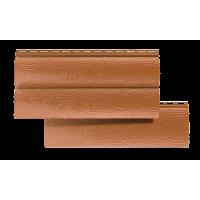 Сайдинг акриловый Альта-профиль блок хаус, двухпереломный, цвет дуб светлый