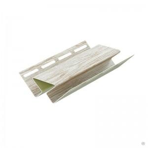 Внутренний угол для сайдинга, 3м, цвет орех