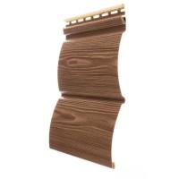 Сайдинг виниловый Docke Blockhaus (Дёке Блокхаус) D4,7T, цвет кедр