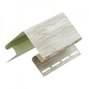 Внешний угол для сайдинга, 3м, цвет орех