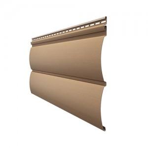 Сайдинг виниловый Docke Blockhaus Premium, цвет капучино