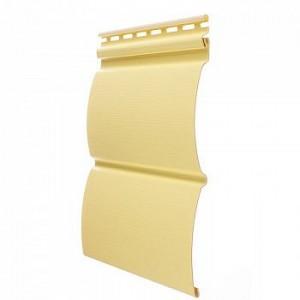 Сайдинг виниловый Docke Blockhaus Premium, цвет лимон