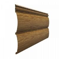 Сайдинг виниловый Docke Blockhaus Lux D4,7T, цвет миндаль