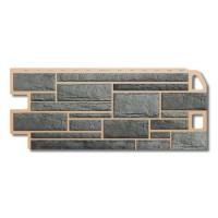 Сайдинг фасадный «Камень», серый