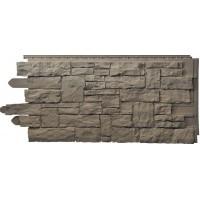 Сайдинг фасадный Novik, Рваный камень, Aspen