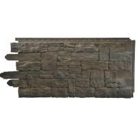 Сайдинг фасадный Novik, Рваный камень, Moka