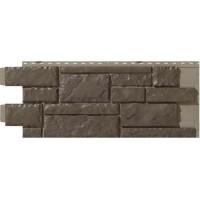 Сайдинг фасадный Novik (Новик), Тесаный камень Cedar blend