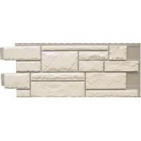 Сайдинг фасадный Novik, Тесаный камень White blend