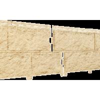 Сайдинг Ю-пласт Фасадные панели Стоун Хаус Камень Золотистый
