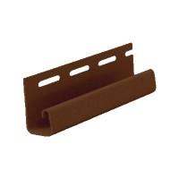 J-профиль Деке (Docke)( дл.3м.), цвет шоколад