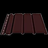 Соффит Docke (Дёке) Т4 с полной перфорацией, Цвет каштан