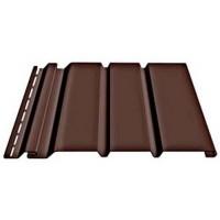 Соффит Docke сплошной, 1,85 м, Цвет шоколад