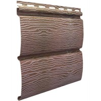 Виниловый сайдинг Ю-пласт timberblock Дуб натуральный
