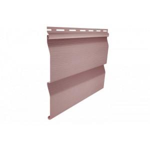Виниловый сайдинг Ю-пласт Корабельный брус Розовый