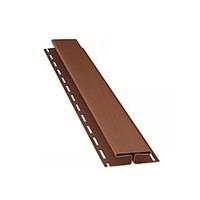 Планка АйДахо Н-профиль, коричневая, 3,05 м/п