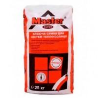 Клей Master Супер, для плитки и систем теплоизоляции, 25 кг.