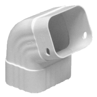 Колено трубы водосточной Euramax (Евромакс)