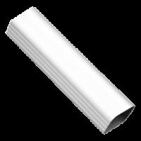 Труба водосточная прямоугольная Euramax (Евромакс)