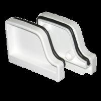 Заглушка желоба Euramax (Евромакс): левая и правая