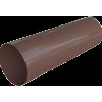 Труба водосточной системы Alta-Profil (Альта-Профиль), ПВХ, 3 м., коричневый