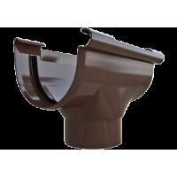 Воронка водосточной системы Alta-Profil (Альта-Профиль), ПВХ, 82 мм., коричневый