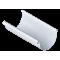 Желоб водосточной системы Alta-Profil (Альта-Профиль), ПВХ, 3 м, 125/95 мм., белый