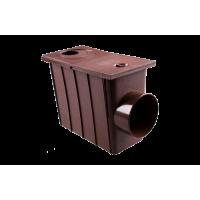 Колодец с боковым сливом для водосточной системы Profil, 90 мм