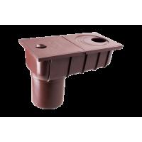 Колодец с прямым сливом для водосточной системы Profil (Профиль), 130 мм