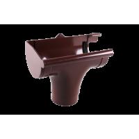 Ливнеприемник левый для водосточной системы Profil (Профиль), 130 мм