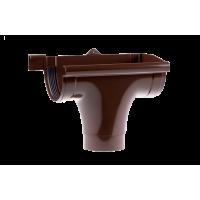 Ливнеприемник правый для водосточной системы Profil (Профиль), 90 мм