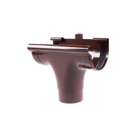 Ливнеприемник проходной для водосточной системы Profil (Профиль), 130 мм