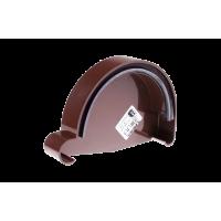 Заглушка желоба правая для водосточной системы Profil (Профиль), 90 мм