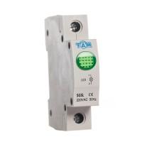 Индикатор на динрейку световой SGSL зеленый