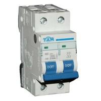 Автоматический выключатель 2 Полюса 50А