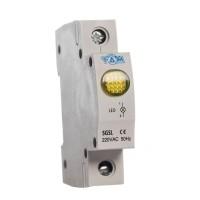 Индикатор на динрейку световой SGSL желтый