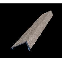 Наличник оконный металлический Технониколь Hauberk Песчаный