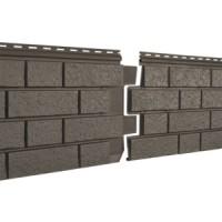 Фасадная панель Ю-ПЛАСТ Stone-House S-Lock Клинкер Бежевый