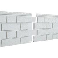 Фасадная панель Ю-ПЛАСТ Stone-House S-Lock Клинкер Дымчатый