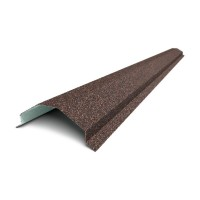 Планка конька треугольного для черепицы QueenTile (КвинТайл)