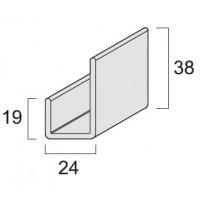 Планка J-trim KerraFront FS-251 Графит