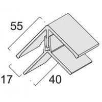 Угол универсальный двухэлементный KerraFront FS-222 Графит