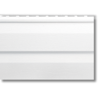 Сайдинг виниловый Альта-профиль, 3.66м.дл.-0.232м.ш.цвет белый