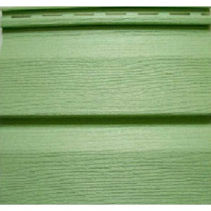 Виниловый сайдинг Ю-пласт Зеленый